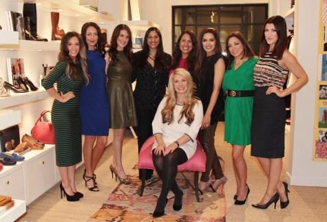 Nina Gutierrez-Garcia, Shannah Quinn, Kelly Buckner, Sippi Khurana, Misit Pace-Krahl (Sitting), Sneha Merchant, Bianca Williams, Magen Pastor