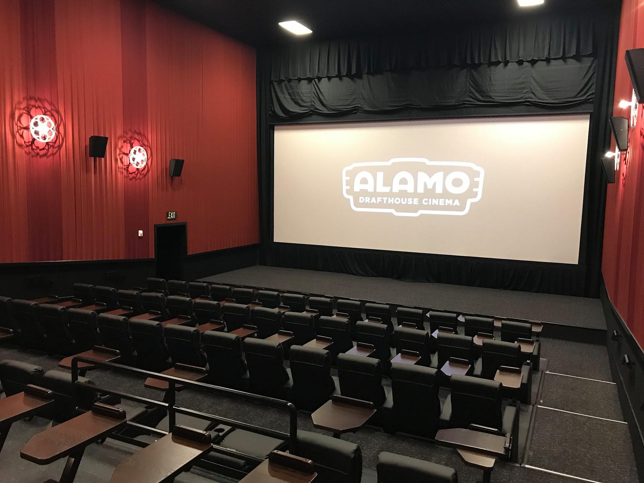 Food And Drink: THE ALAMO DRAFTHOUSE CINEMA